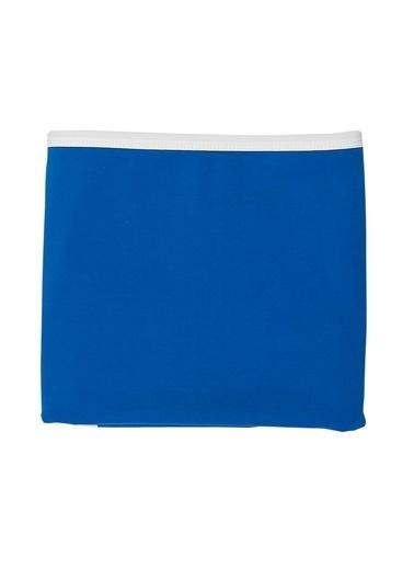 Nila Kids Nila Kids Blue Blossom Organik Battaniye Renkli